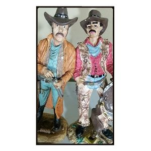 2 Cowboy figurines very detailed.
